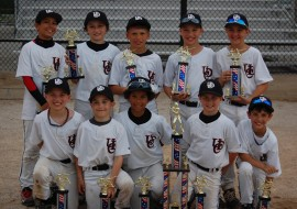 The Upper Deck Cougars Won the 2013 Kansas City Super NIT. The team's 7th tournament win. The Upper Deck Cougars are now 40-1 and have a birth to the Disney Elite 32. Great job boys.