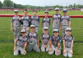 9U-Les takes 4th in N.Lenox Memorial Day Classic