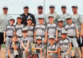 8U-Greenfield takes 2nd in USSSA Mokena Father's Day Classic