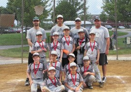 9U-Les takes 2nd in Orland Benny Newsome Memorial