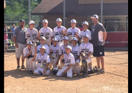 13u-Lenza takes 1st at Wisc Dells Summer Slugfest