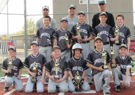 10u-Les takes 2nd in King Of The Corn