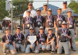 10U-Les takes 2nd in Naperville May Mania